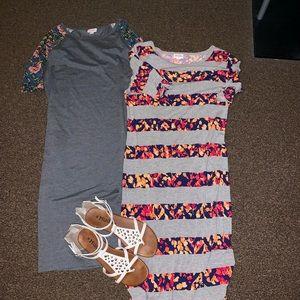LuLaRoe Julia Dress bundle- great condition